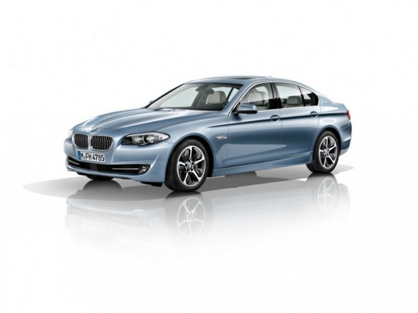 BMW ActiveHybrid 5: 340 caballos muy eficientes