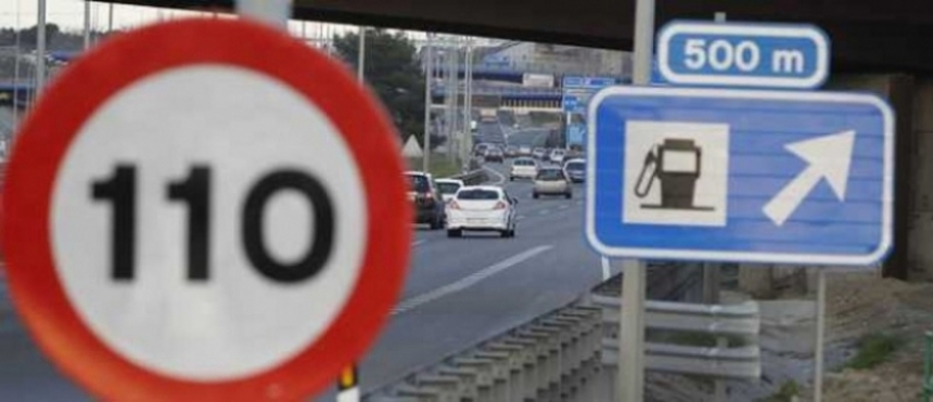 El fin del límite 110 baja el consumo del combustible