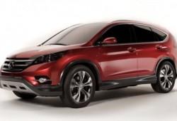 El Honda CR-V Concept aparece antes de lo esperado