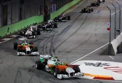 Force India de celebración: Los dos coches logran puntuar