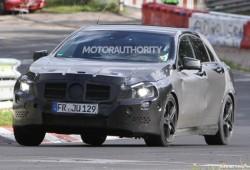 Fotos espías del Mercedes Benz A25 AMG