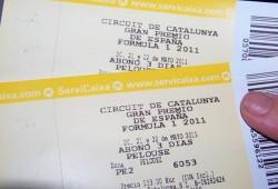 GP España F1 2012: Venta de entradas 20 % descuento