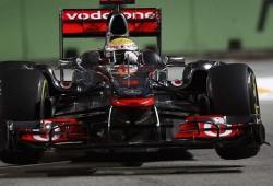 GP Singapur 2011: Libres 1, Hamilton por delante de Vettel