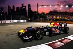 GP Singapur 2011, Libres 2: Vettel por delante de Alonso