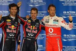 GP Singapur 2011: y la pole es para el de siempre