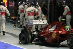 Massa, cabreado, arremete otra vez contra Hamilton