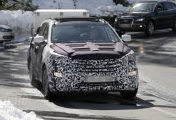 Nuevas fotos espías del Hyundai ix45