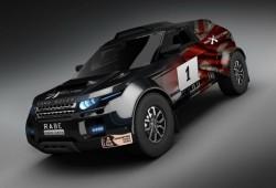 Range Rover Evoque preparado para el Rally Dakar