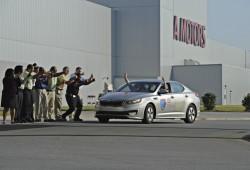 Récord mundial Guinness de consumo para el Kia Optima Hybrid
