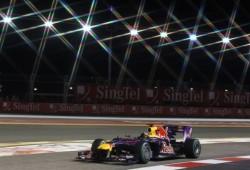 Singapur: Vettel piensa en la victoria, no en el título