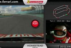 Una vuelta a bordo del Ferrari 458 Challenge