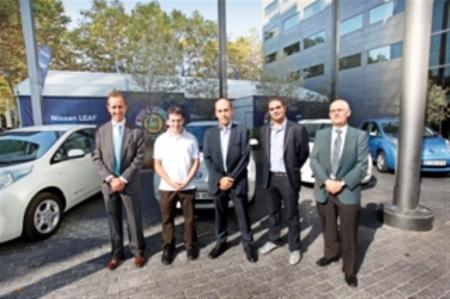 Primeras entregas del Nissan Leaf en Barcelona