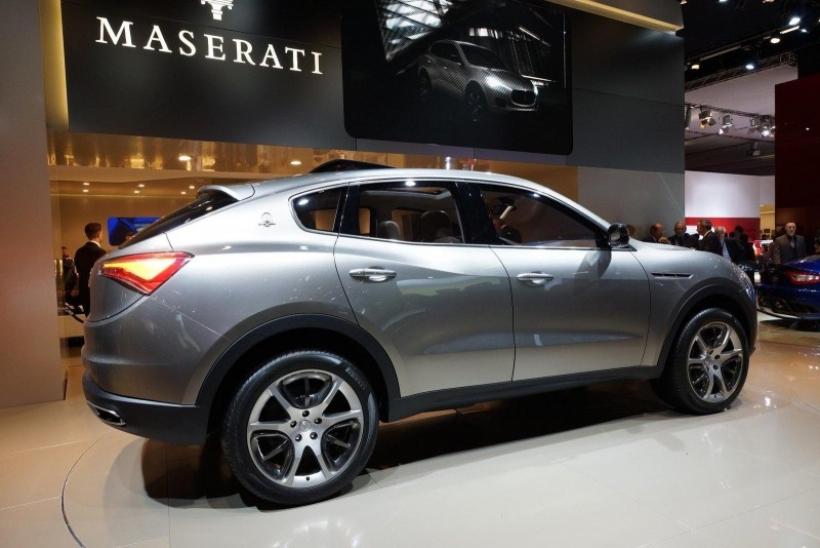 Salón de Frankfurt 2011: Maserati presentó el SUV Kubang Concept