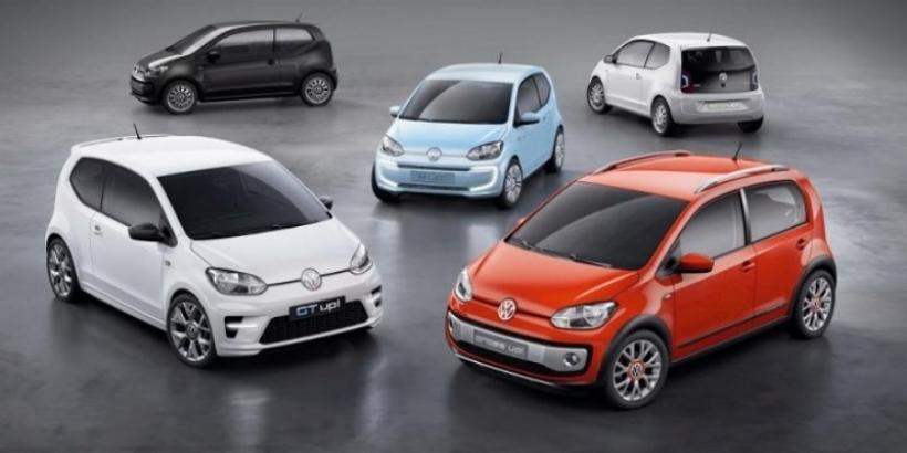Volkswagen presentó las versiones eléctricas, deportivas y aventureras del Up!