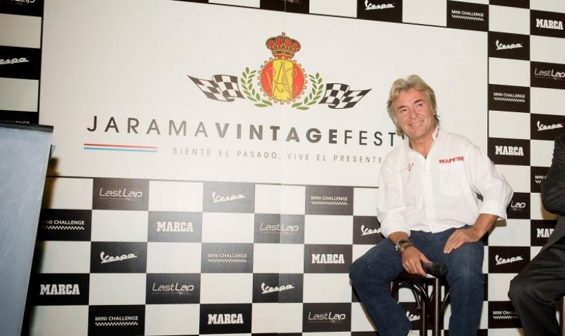 Ángel Nieto presenta el Jarama Vintage Festival
