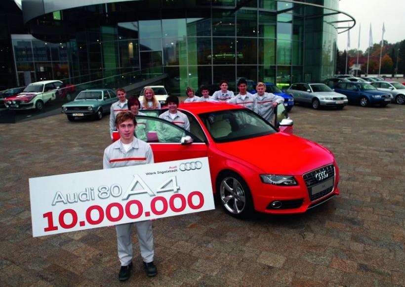 Del 80 al A4, 10 millones de Audi