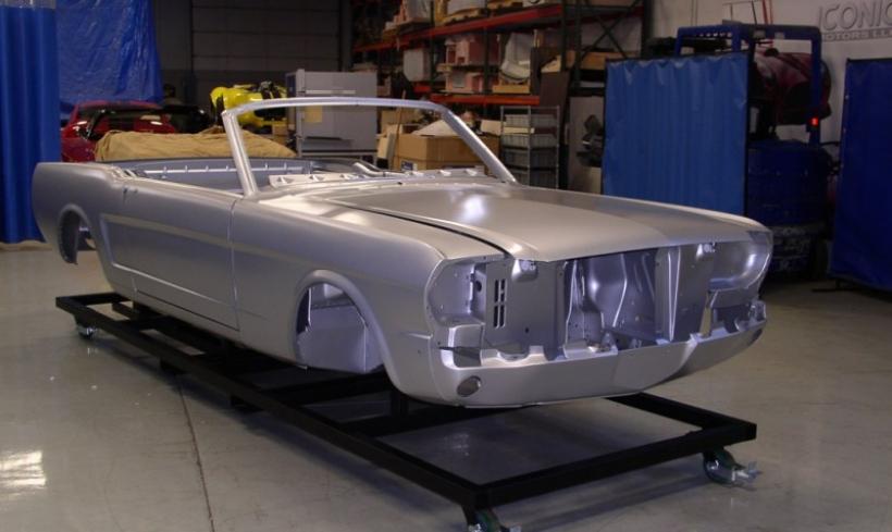 Ford ofrece carrocerías para restaurar los Mustang de los sesentas