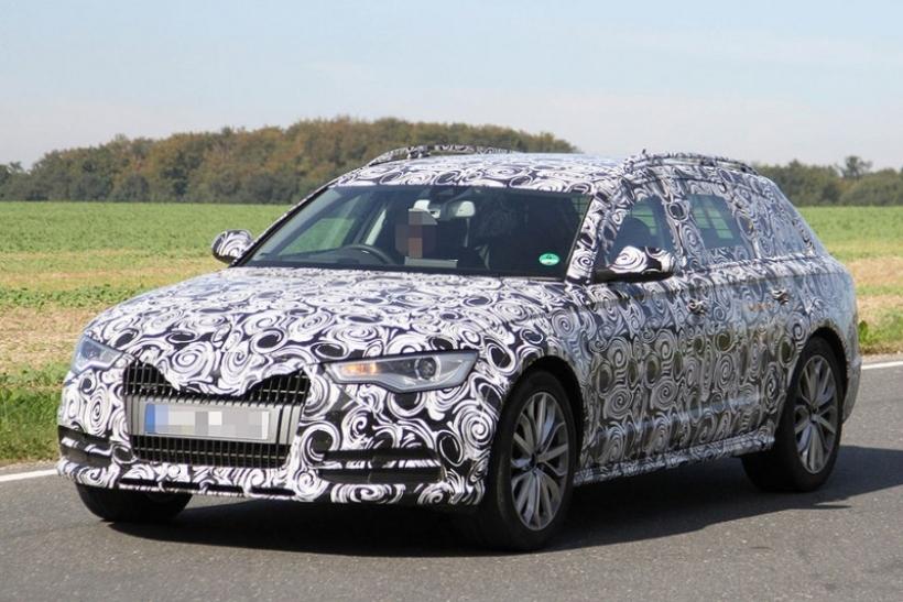Fotos espía del Audi A6 Allroad 2012