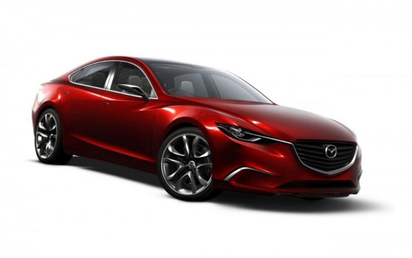 Mazda Takeri concept, el adelanto del nuevo Mazda6