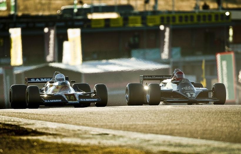 Mclaren gana la carrera de Fórmula 1 históricos