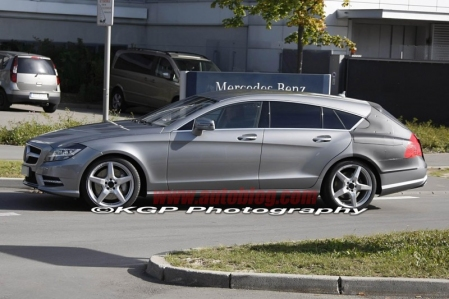 Fotos espía del Mercedes-Benz CLS Shooting Brake