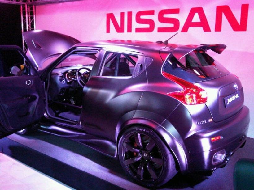 Nuevas imágenes del Nissan Juke-R