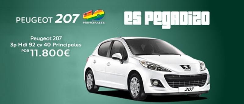 Nuevo Peugeot 207 serie especial 40 Principales