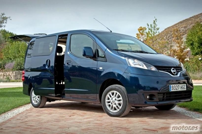 Presentación del nuevo Nissan Evalia en Madrid