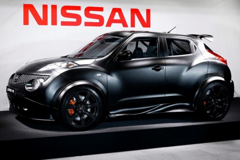 Primera imagen oficial del Nissan Juke-R