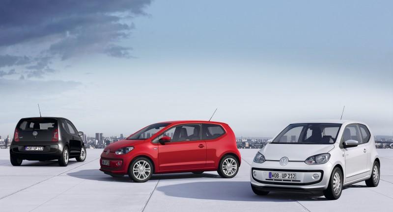 Volkswagen completa la gama Up! con los High Up!, Up! Black y Up! White