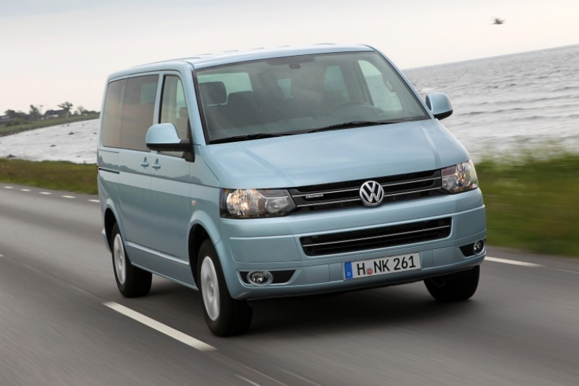 VW Multivan BlueMotion, 6,4 litros a los 100 kilómetros