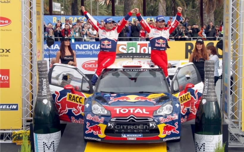 WRC. RALLY DE CATALUÑA. Loeb se acerca al título