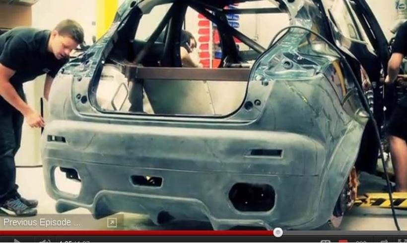 Así se armó la carrocería deportiva del Nissan Juke R