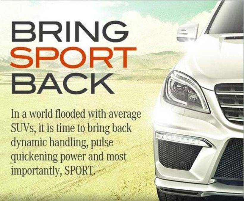 El nuevo Mercedes ML63 AMG anticipado en Facebook
