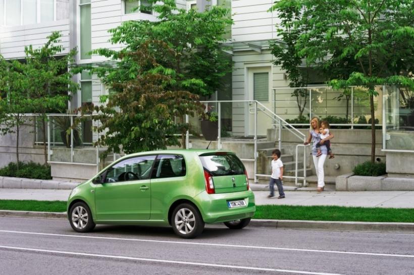El Skoda Citigo pasa por Euro NCAP con matrícula de honor