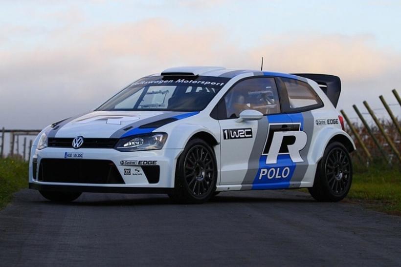 El Volkswagen Polo R WRC pasa a la acción con Carlos Sainz