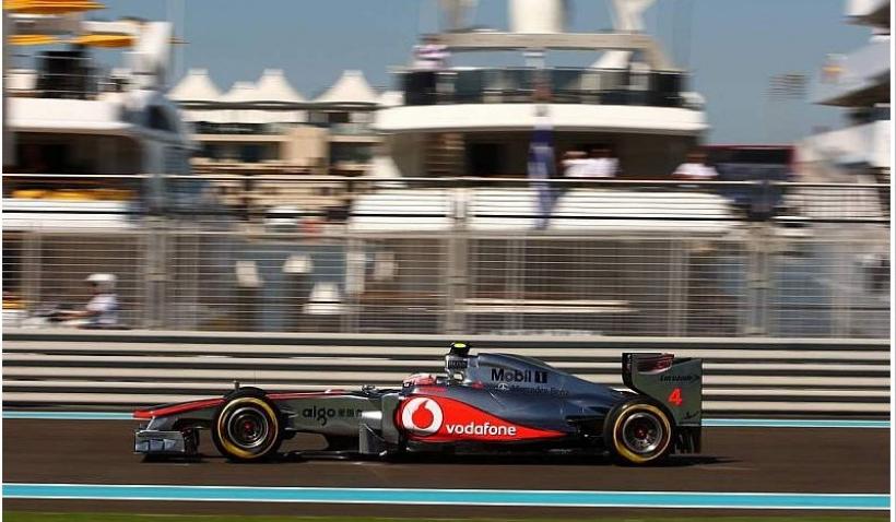 GP Abu Dhabi 2011, Libres 1: Button el más rápido