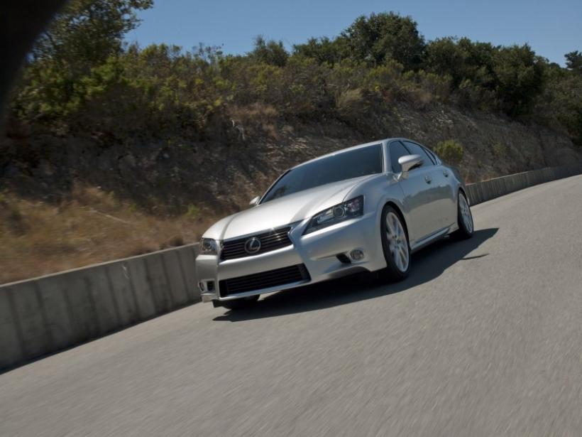 Lexus GS250: La variante de acceso a la gama GS 2012