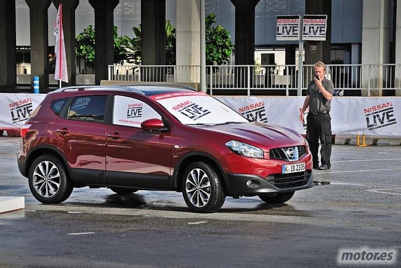 Nissan Live Málaga: Probamos el Around View Monitor en el Qashqai