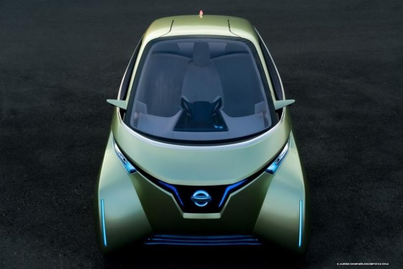 Nissan Pivo concept, un Leaf con capacidad para tres pasajeros