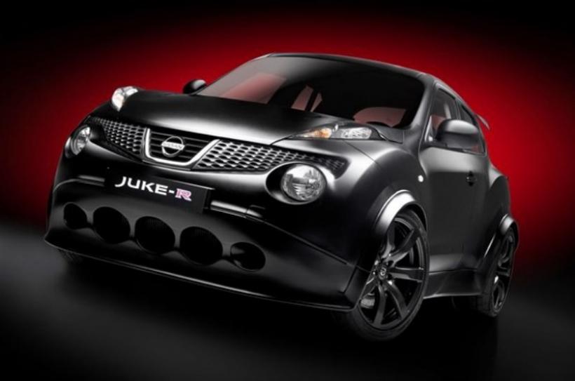 Nissan revela la silueta del Juke R antes de su debut oficial