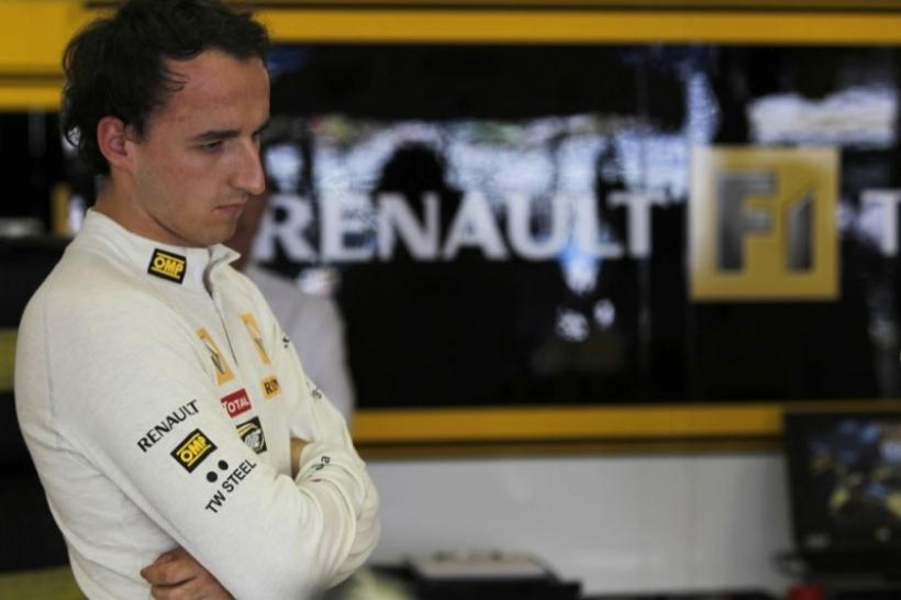 Renault confirma: Kubica aún no está listo en 2012