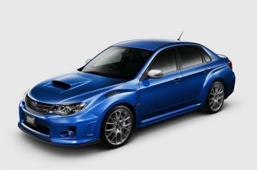 Subaru revela la última edición del Impreza WRX STI