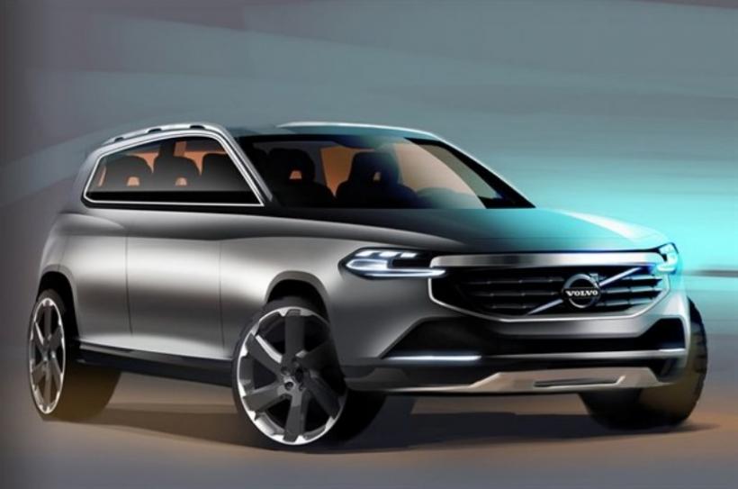 Volvo anticipa el diseño del nuevo XC90