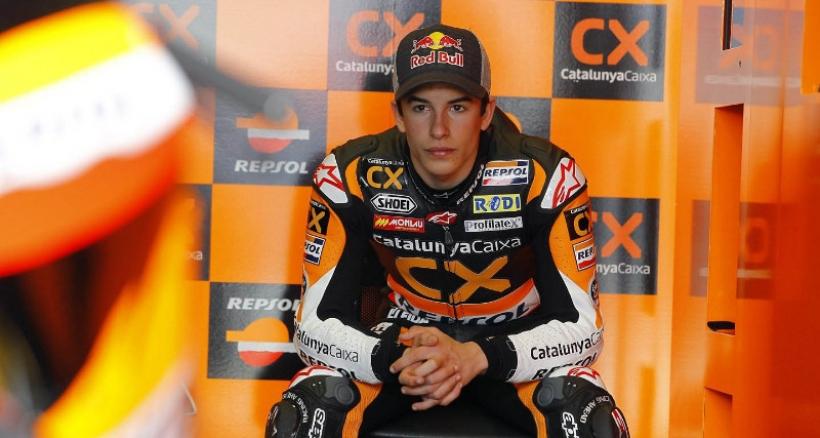 Márquez empezará a entrenarse a finales de enero