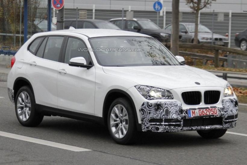 Fotos espía: BMW X1 restyling