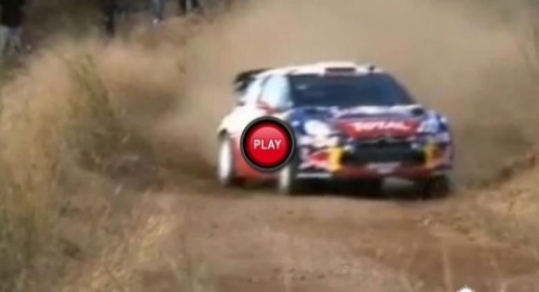 Citroën comienza a trabajar para el campeonato de rally 2012