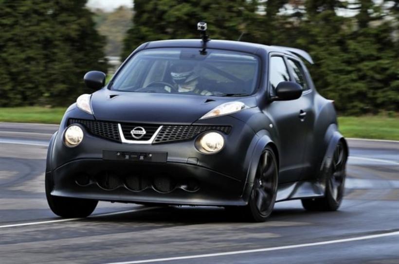 Comienzan las pruebas en circuito del Nissan Juke R