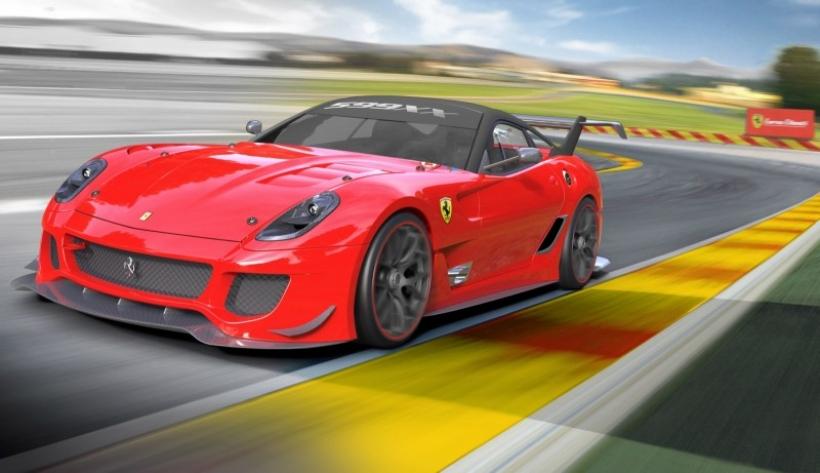 Ferrari ofrece pack de actualización para el 599XX