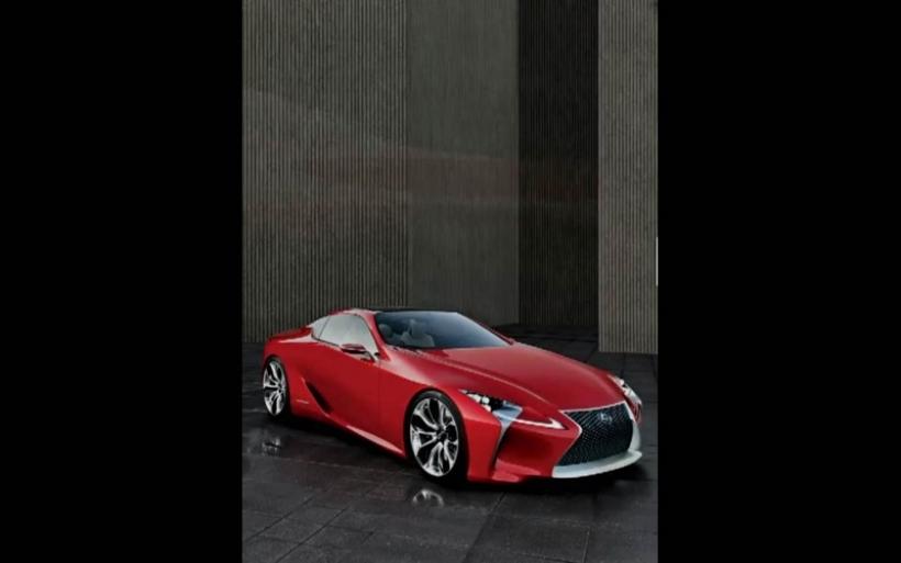 Se filtra el Lexus LF-Lc Concept